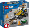 LEGO® City Great Vehicles. Pojazd do robót drogowych. 60284