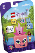 LEGO® Friends. Kostka Olivii z flamingiem. 41662