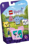 LEGO® Friends. Kostka Stephanie z kotem. 41665